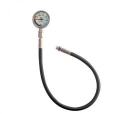 Manometro SPG52 - Frusta da 15cm Milflex per ossigeno